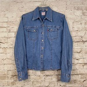 Vintage 90's Levis Dry Goods Denim Shirt